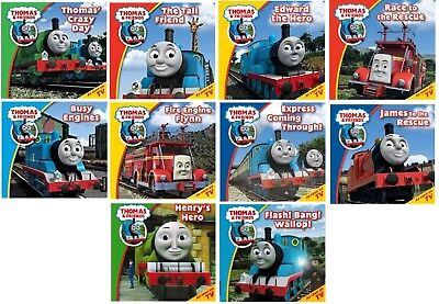 NEW x  10 THOMAS and FRIENDS Flynn Percy Double Trouble Flash Bang Wallop
