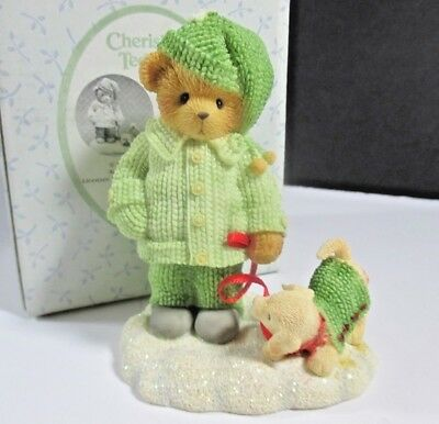 Cherished Teddies Louise Friends Were Meant For Tmes Like These #A311