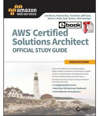 AWS Certified Solutions Architect Official Study Guide (PDF/EB00k)