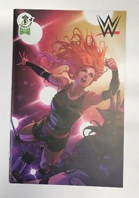 WWE #14 | BECKY LYNCH RETAILER VARIANT COVER ECCC 2018 EXCLUSIVE | Boom | NM