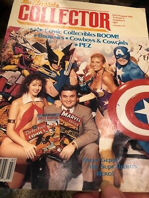 The Inside Collector Magazine July/Aug 93 Comics, Brownies, PEZ, Cowboys & Girls