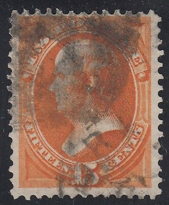 TDStamps: US Stamps Scott#152 15c Webster Used CV$220.00