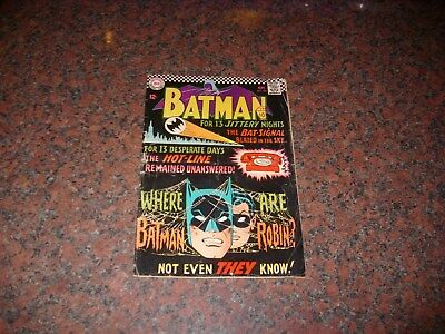 DC BATMAN COMIC SEP 1966 No 184