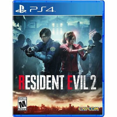 Resident Evil 2 Remake Standard/Deluxe Playstation 4 (PS4) Capcom US Brand New