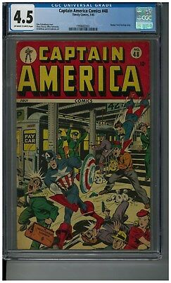Captain America #48 - Great mid grade Timely