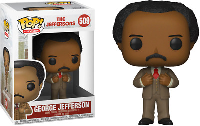 Funko Pop! Television The Jeffersons George Jefferson #509 (Box Is Damaged)