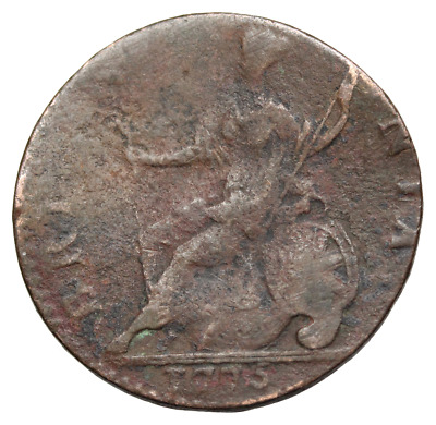 Great Britain - George III Evasion Halfpenny, 1775