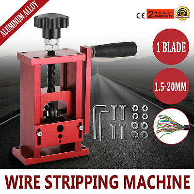 Manual Electric Wire Stripping Machine Recycle Tool Industrial Peeler Up ON SALE