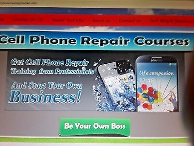 Cell Phone, Laptop Repair Training Course from Professionals & Start A Business!