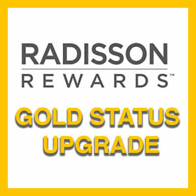 Radisson Rewards Gold Status