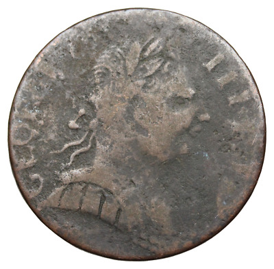 Great Britain - George III Evasion Halfpenny, 1774