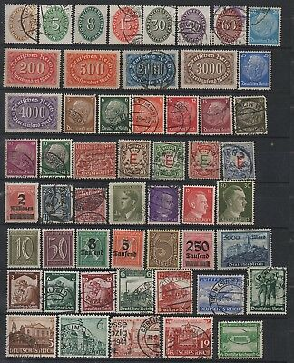 Germany Reich very nice lot of stamps (1)