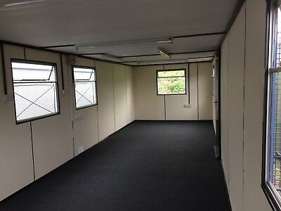 32x10ft Site Office / Portable Building / Site Cabin / Steel cladded 3800 + VAT
