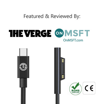 Surface Connect To USB C Charging Cable | 15V