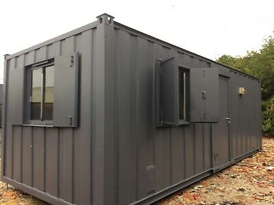 24 x10ft Anti Vandal Site Office / Portable Building / Site Cabin / Canteen