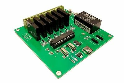 6 Channel Traffic Light Controller SEQUENCER 500W 120VAC 240VAC