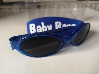 Baby Banz Adventurer Sunglasses 100% UVA/UVB Protection (Ages 0-2yrs) Blue