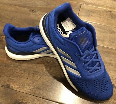check out 3a0bc 40c94 NEW Adidas Men s Sonic Drive Response Boost Running Shoes Blue Size 11.5
