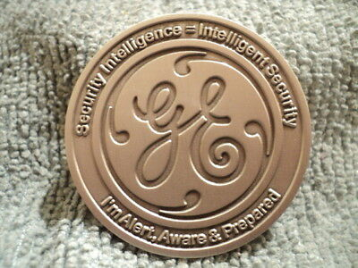 Challenge Coin, General Electric Gas & Oil, MENAT Security and Crisis Management