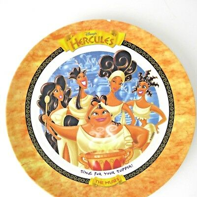 Disney Hercules Muses Sing For Your Supper McDonalds Plate 1997