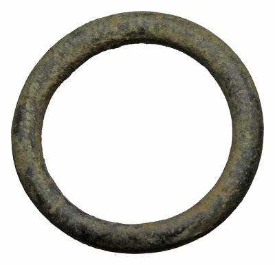 CELTIC. Bronze Ring Proto-Money, 800-500 B.C. 28mm
