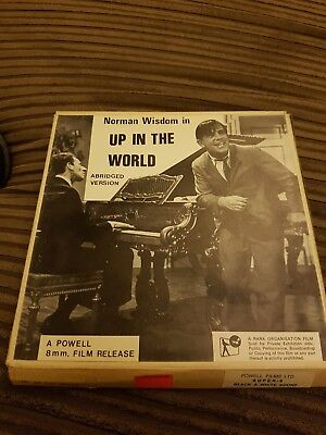 NORMAN WISDOM - UP IN THE WORLD - SUPER 8 FILM - POWELL 8mm