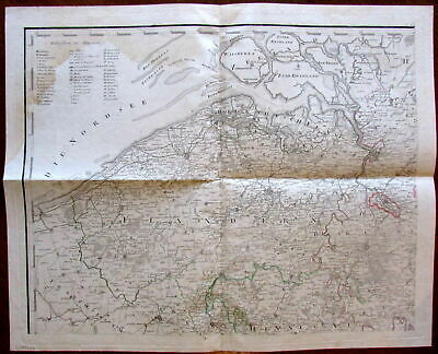 RARE ENGRAVED MAP - Long Island Railroad New York 1847 by Williams