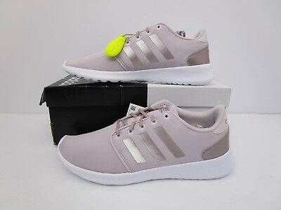 0ae2abb4d66 Adidas Cloudfoam QT Racer W  DB1748  Women Casual Shoes Ice Purple Silver  8.5