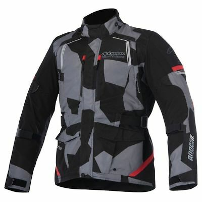 New Alpinestars Andes V2 Drystar Waterproof Textile Motorcycle Jacket Camo 4XL