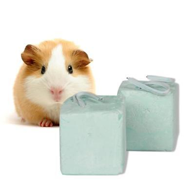 Hamster Teeth Grinding Stone Mineral Calcium Rabbit Squirrel Rat Hang Cube new