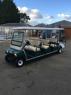 2012 Club Car 8 Seater Golf Buggy Electric With Charger