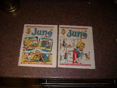2 June And Poppet  Comics August 1964