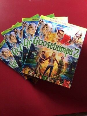 Goosebumps 2 Haunted Halloween Blu-Ray