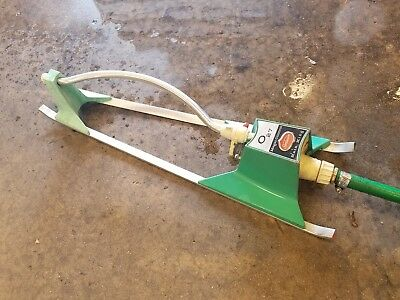 VINTAGE RAIN KING Magic Control MODEL O 27  RARE OSCILLATING SPRINKLER  SUNBEAM