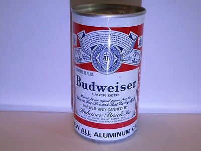 Budweiser Flat Top Beer Can ( Tampa )