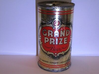 Grand Prize Flat Top Beer Can