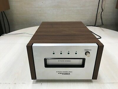Centrex by Pioneer Stereo 8 Track Tape Player Model TH-30 Excellent