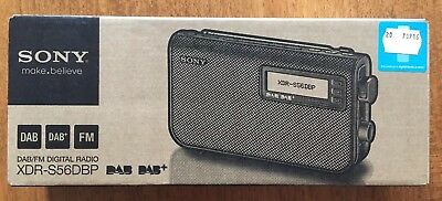SONY DAB/FM Digital radio XDR-S56DBP