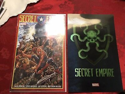 Secret Empire Issue 1 First Print and Poster