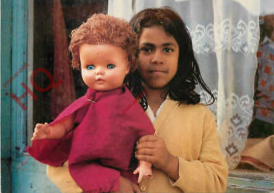 Picture Postcard, Leeds Postcards, L363, Black Girl With A White Doll