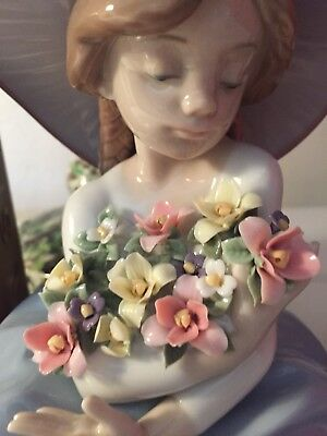 "Lladro ""Fragrant Bouquet""#5862 Mint Condition With Original Box- Stunning!"
