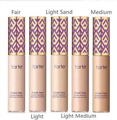 NEW Tarte Shape Tape Contour Concealer FULL SIZE Various Shades FREE SHIPPING!!!