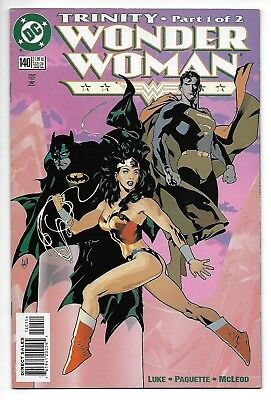 DC Comics, Wonder Woman, Issue 140, Direct Sales, 1999, 9.6, Near Mint Condition