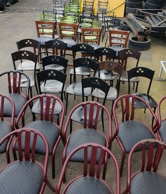 CHAIRS CHAIRS CHAIRS and more chairs x 60+ for cafe shop pub club home school