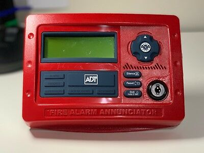 *New* Fire-Lite ADT ANN-80 41D2 Fire Alarm Remote Annunciator Red Notifier