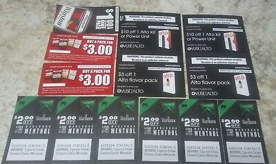 Tobacco coupons