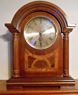 ANTIQUE  WESTMINSTER CHIME MANTEL CLOCK (battery)