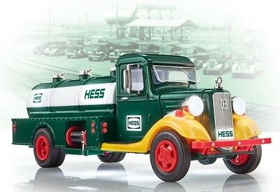 Hess Toy Trucks 2018 85th Anniversary Limited Edition First Tank Truck BRAND NEW