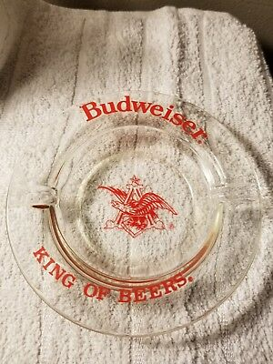 Vintage Budweiser Beer Ashtray