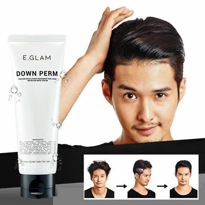 2019 Ver. E.Glam Down Perm Men's Speedy Easy Self Magic Straight Side Perm 120ml